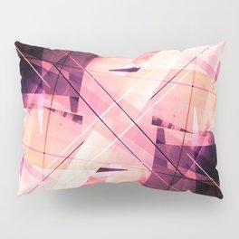 Sunbound - Geometric Abstract Art Pillow Sham