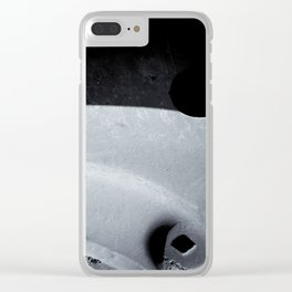 Vehicle Wheel of Certainty Clear iPhone Case