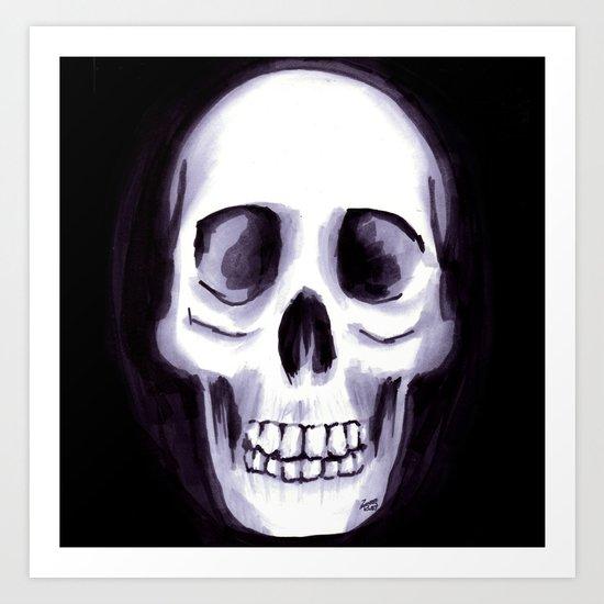 Bones V Art Print