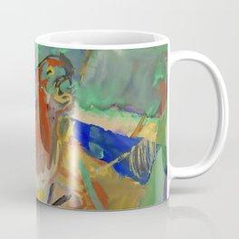 "Franz Marc ""Tiger in the Jungle"" Coffee Mug"