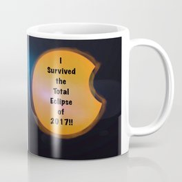 I Survived the Total Eclipse Coffee Mug