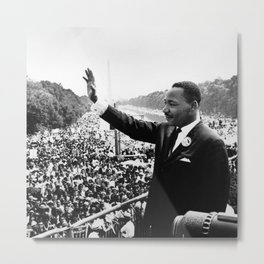 Remembering African American History and Martin Luther King Metal Print