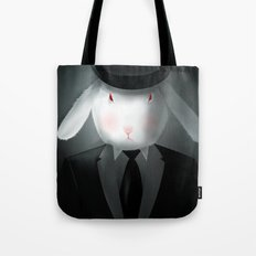 Good-Evening, Mr. Bunny Tote Bag