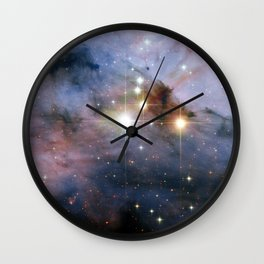 Colossal stars Wall Clock