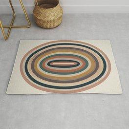 Centered - Modern Art Print Rug