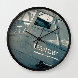 Bremont. Wall Clock