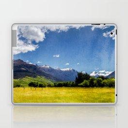 Green Fields & Mountain Laptop & iPad Skin