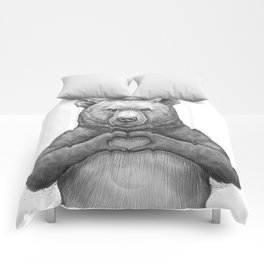 Bear with love Comforters