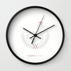 Hungarian Embroidery no.3 Wall Clock