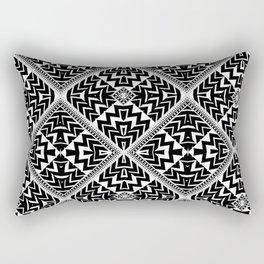 Black and White   Leyana Tribal 1 Rectangular Pillow
