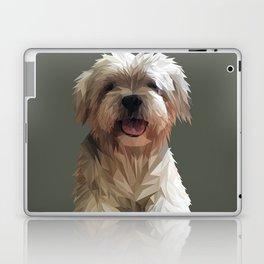 Shih tzu Low Poly Laptop & iPad Skin