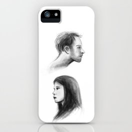 elementary: better half iPhone Case