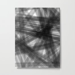 Exhausted society Metal Print