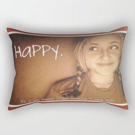 It's a Big World, Make it Your Own Rectangular Pillow