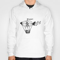 pirate ship Hoodies featuring Pirate Ship by Crooked Stick