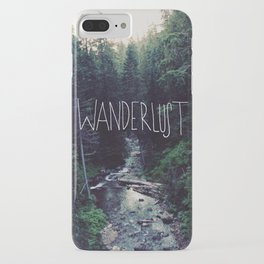 Wanderlust: Rainier Creek iPhone Case