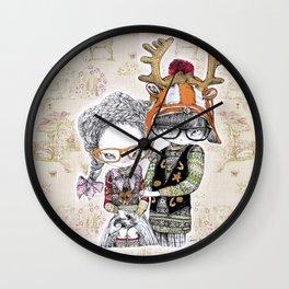 Hansel & Gretel by Carine-M Wall Clock