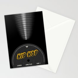 VINYL MUSIC / Hip Hop Stationery Cards