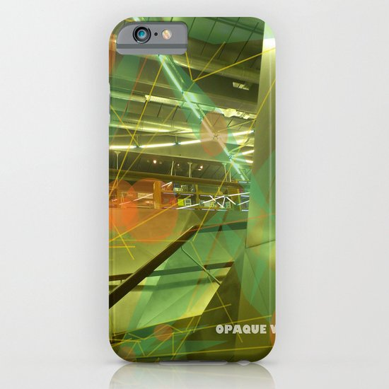 Photographer of steel stairs iPhone & iPod Case