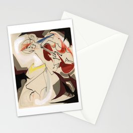 Cello and Sxophne Player Musicians Painting Drawing Stationery Cards