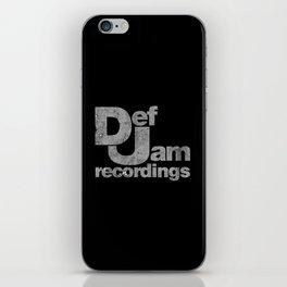 Jam Recordings Square iPhone Skin