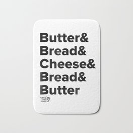 Tasty Grilled Cheese Recipe T-Shirt Bath Mat