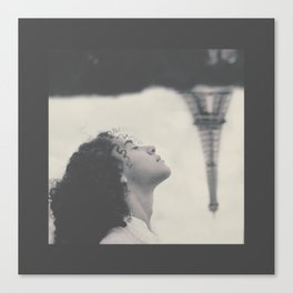 Paris, mon amour.  Canvas Print