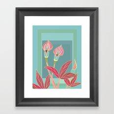 Arum Lilies II. Framed Art Print