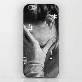 Expletive iPhone Skin