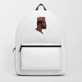 Black African King Backpack