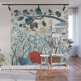 nature【Japanese painting】 Wall Mural