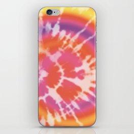 Tie-dye pattern iPhone Skin