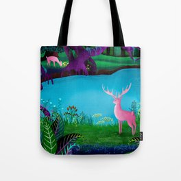 The Silent Deep Stream of Greendown Glenn Tote Bag