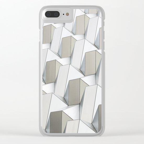 Pattern cubism Clear iPhone Case