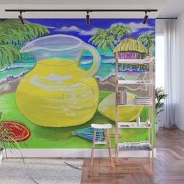 Lemon Paradise Wall Mural