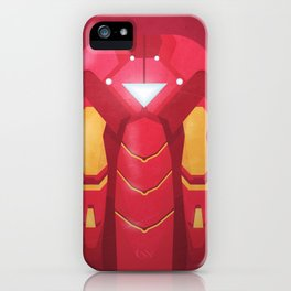 Fe Man iPhone Case