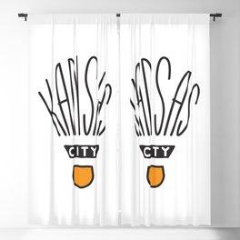Kansas City Shuttlecock Type Blackout Curtain