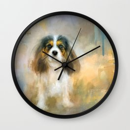 The Attentive Cavalier Wall Clock