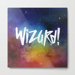 Wizard! Metal Print
