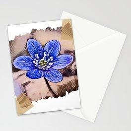Liverleaf Dream | Scrapbook Painting  Stationery Cards