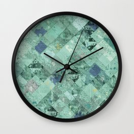 Abstract Geometric Background #31 Wall Clock
