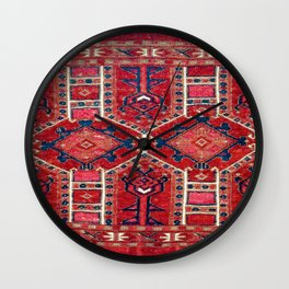 Burkett Saryk West Turkestan Jollar Wall Clock