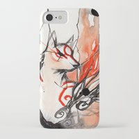 okami iPhone & iPod Cases featuring Okami by Rubis Firenos