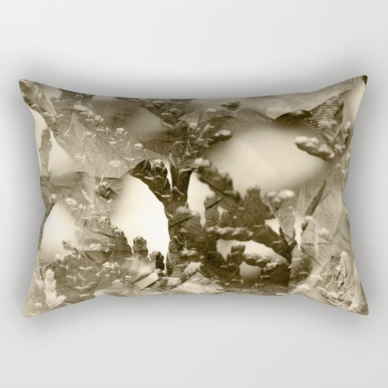 Winter Mood Rectangular Pillow