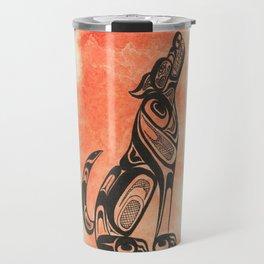 Ghost Wolf Travel Mug
