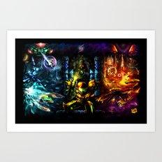 Metroid: 25 Years Art Print