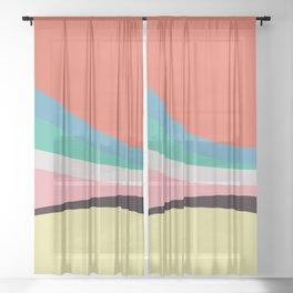 june spectrum Sheer Curtain