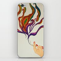 political iPhone & iPod Skins featuring Political Views by Aries Art