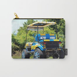 Two Tone Golf Cart Carry-All Pouch