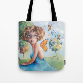Amelia, Courage to Fly Tote Bag